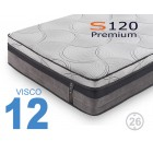 Colchón Viscoelástico S120 Premium