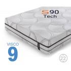 Colchón Viscoelástico S90 tech Viscogel