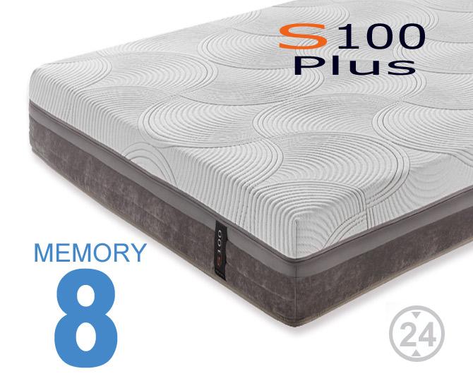 Materassi memory S100 Plus
