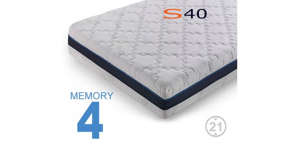 Materassi memory S40 Viscogel