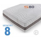 Materassi memory S80 Viscogel