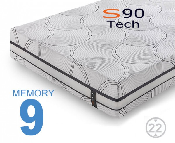 Materassi memory S90 Tech Viscogel