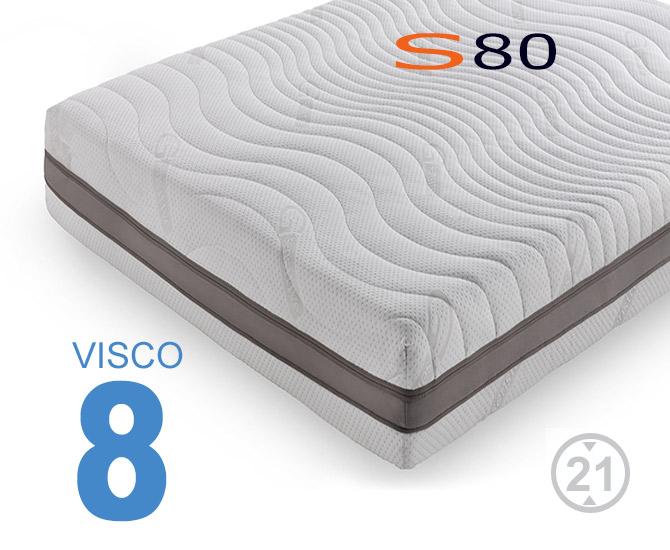 Colchão Viscoelástico S80 Viscogel